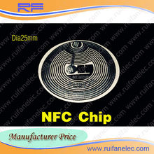 Paper roll built-in chip RFID smart key NFC label