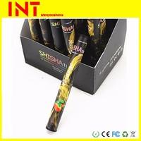 disposable e cigarette 30 flavor 500 puffs e liquid shisha vaporizer pen wholesale accept paypal