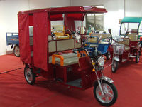 48V850W electric tricycle passenger for Indian market