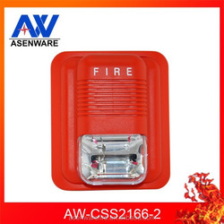 Fire security monitor strobe lights red fire strobes