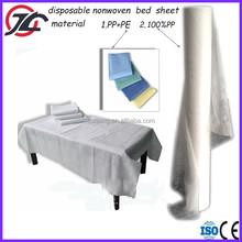 Disposable Spunbonded Nonwoven Medical Bed Sheet