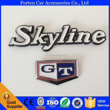 ABS GT Skyline Car 3D Sticker Emblem Logo C210 Side Letter Badge
