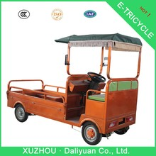 electric quadricycle cargo dual rear wheel 3 wheel motorcycle motorbike