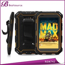 7inch 1280*800 IPS Android 4.4 RAM 1GB ROM 8GB Rear camera 8.0MP battery 10400mah 3G GPS bluetooth wifi NFC IP67 Rugged Tablet