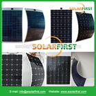 Alta eficiência de silício amorfo solar semi flexível