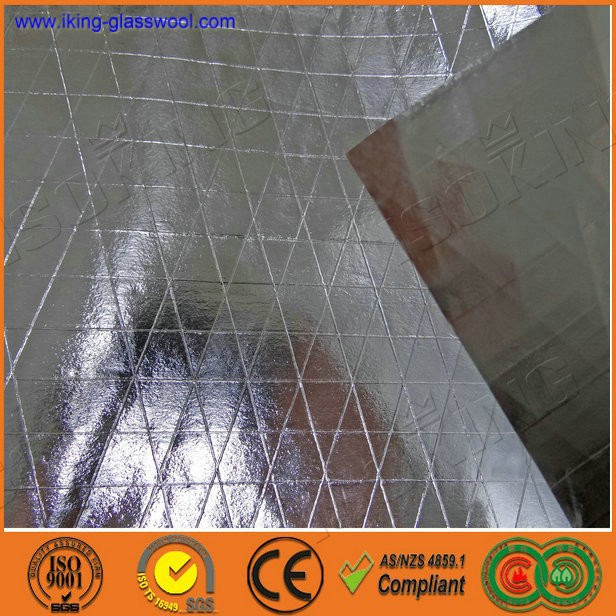 Vapor barrier aluminum foil fire resistant material buy for Fireproof vapor barrier