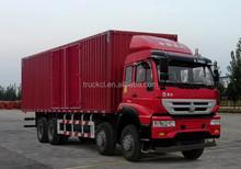 sino howo food truck 10ton Delivery truck, van cargo truck