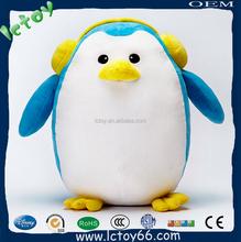 custom baby plush toy animal penguin