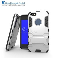 2015 New 3 in 1 Hybrid Combo TPU+PC Case Hard Cover For iphone 5