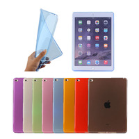 Clear Soft TPU Ultra Thin Transparent Case Cover For Apple ipad mini 4