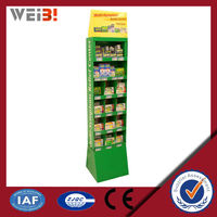For Candy Pos Stand Tabletop Cardboard Display Stands