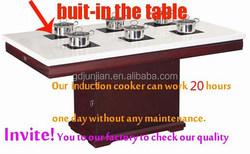 electrolux 30 induction cooktop shabu shabu table