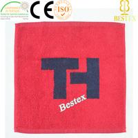 Promotion Cotton soft Personalized Monogram Jacquarded face towel