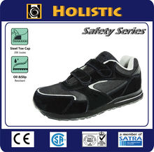 Velcro Straps Safety Jogger style for Industrial Work Steel Toe Sport Safety Shoes