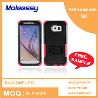 Exquisite design silicone phone case for samsung galaxy s6