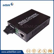 Good Price Fiber Optic to RJ45 Optic Fiber Media Converter