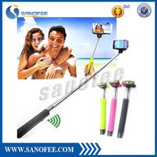 selfie stick bluetooth monopod/mobile phone bluetooth monopod/selfie monopod bluetooth