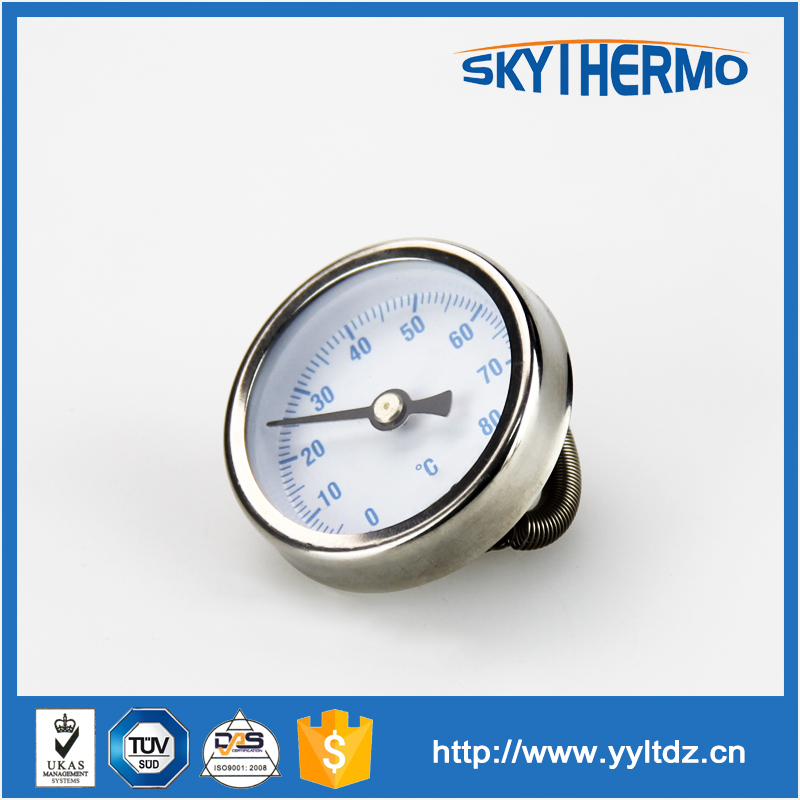 Подключение 120c полная ss промышленные биметаллический термометр и датчик температуры
