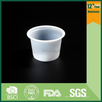 clear plastic mini cup jelly\cup plastic
