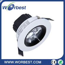 C7 Integrated LED Adjustable Dimmable 7W Downlight Warm White 3000K