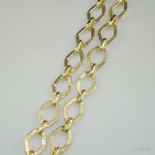 fashionable metal chain links for clothing decoration
