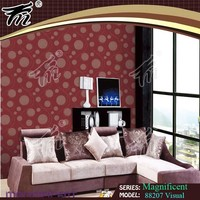 top good quality deep embossed pvc wallpaper/VInly wallpapers/italy designs wallpaper