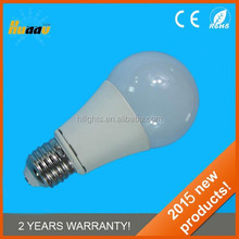 2015 new 7W 560lm Ra>80 A60 LED bulb lamp // LED lamps with high power high quality (CE//EMC//ROHS) led lamps