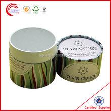 Custom Gift Paper Cardboard Tube Box/Cylinder Box/Round Box