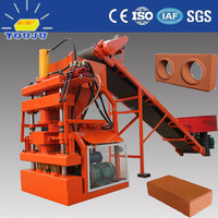 LY1-10 Clay brick making machine price in india Thailand soil interlocking brick machine in Guangzhou