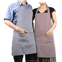 cotton blue and white stripe fabric for apron