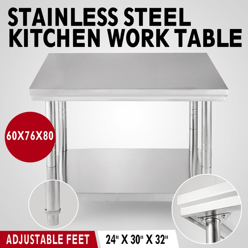 Kitchen Stainless Steel Sink Work Table Stainless Steel Commercial ...