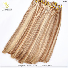 Hot Fusion Prebonded 1g Strand Remy double drawn flat tip hair