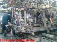 Jinbei Brand Diesel 1028 Pickup Assembly Line Welding Line