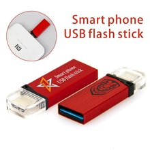 Top designed usb flash drive for smart phone, customed Otg USB 3.0, bulk 2gb 4gb 8gb usb memory stick with free sample.