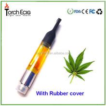 Hottest in USA 100% no leakage clear tube package hemp cbd cartridge