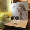 Acrylic Dior sunglasses display, eyeglass showcase, reading glasses display cabinet