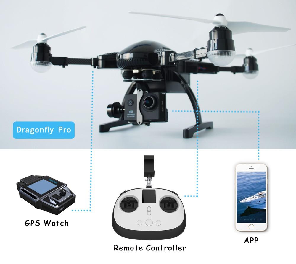 Kamera Kendaraan Udara Tak Berawak UAV Hobby Simtoo Dragonfly Dengan Video Transmitter
