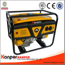popular generator! China KANPOR 5kw power gasoline generator for sale(CCC,CE,BV,ISO9001)