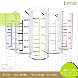 Novelty Measuring Cups Clear Pyrex Glass Measuring Cup