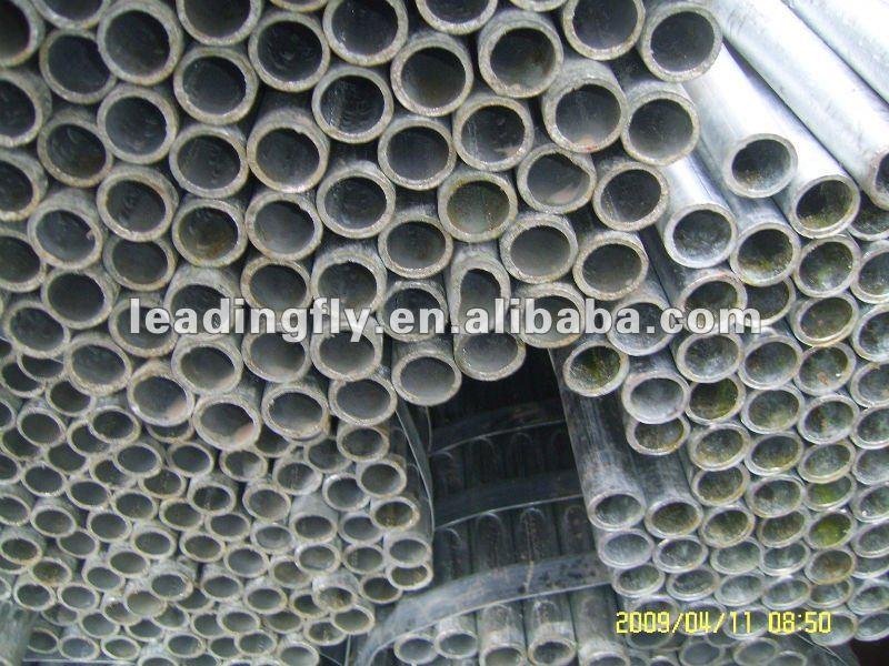 1 pulgadas de tubo de acero galvanizado