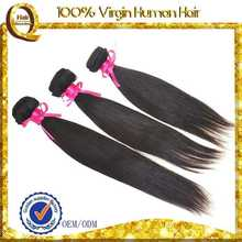 unprocessed virgin brazilian hair untreated virgin cambodian remy hair weaving with thick at bottom