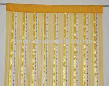 yellow decorative beads curtains