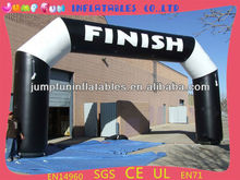 Finish Line Inflatables/Sports events inflatable arch with LOGO printing