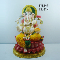 Polyresin hindu god statue ganesha sculptures for sale