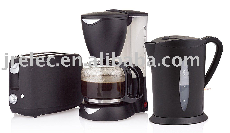 coffee maker electric toaster sandwich maker 3 in 1 breakfast morning set 3 in 1 buy coffee. Black Bedroom Furniture Sets. Home Design Ideas