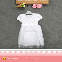 Fancy Frock Design For Baby Girl White Wedding Dress 2 Year Old Flower Girls Tulle Dresses Mini Ball Gown Party Wear