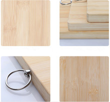custom any thickness rectangular wooden cutting board multi pizza fruit chopping board