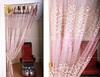 modern nest yarn jacquard salon decorating curtain