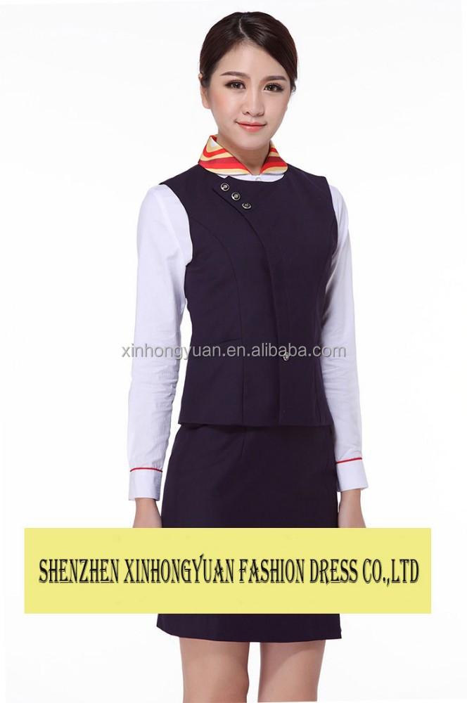 Customize Ladies Office Uniform Career Apparel Work