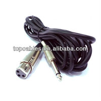 XLR Male to Male TRS 14 Interconnect Cable